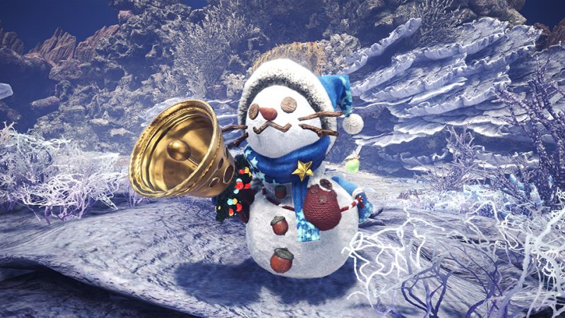 Monster Hunter World Festival Stelle Inverno 5