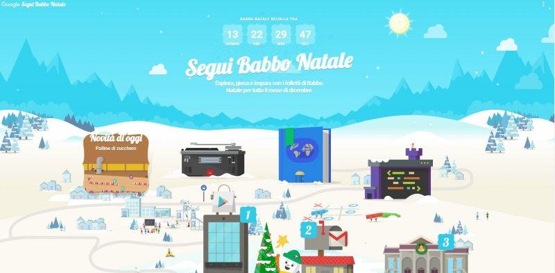 Google Segui Babbo Natale Il Nuovo Gioco Per Bambini Di Natale