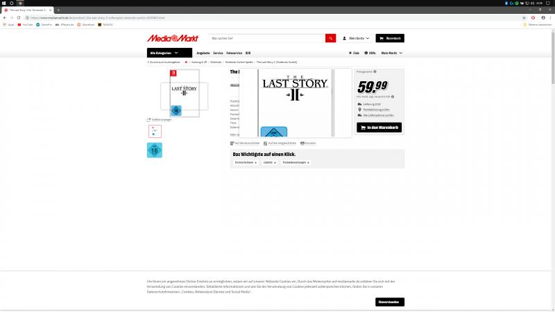 Last Story 2 Media Markt