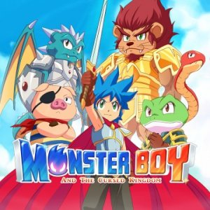 Monster Boy and the Cursed Kingdom per PlayStation 4