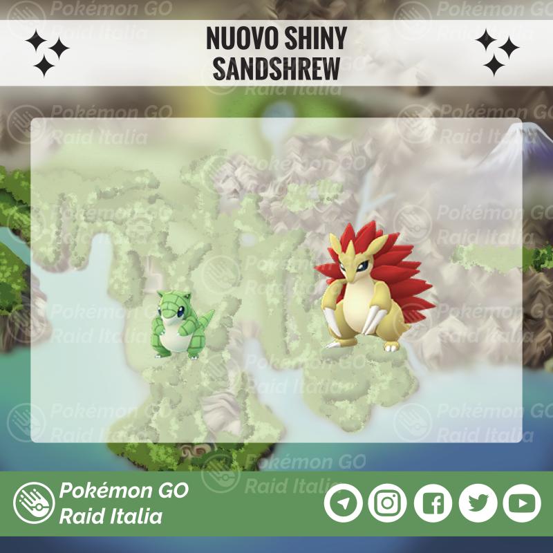 Pokemon Go Sandshrew Shiny 1