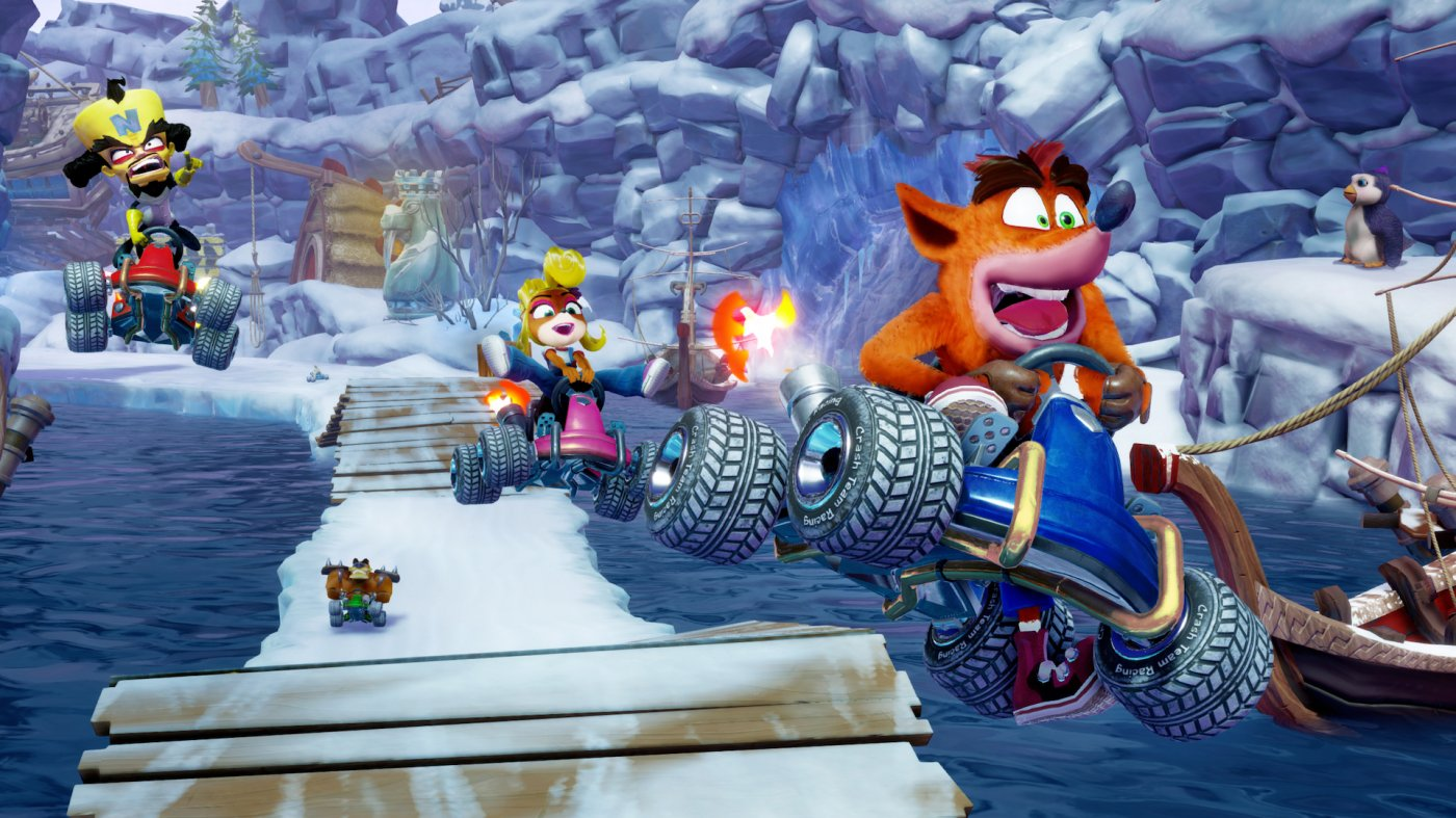 Crash Bandicoot Team Racing: si torna a correre su PS4!