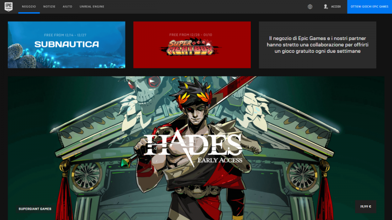 Epic Games Store Art