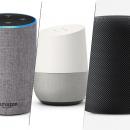 Amazon Echo vs. Google Home vs. Apple HomePod