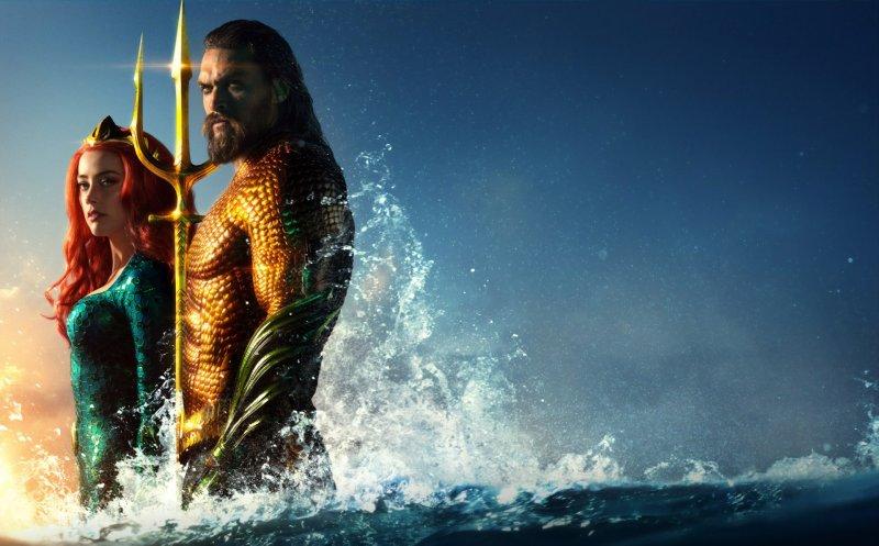 Aquaman 2018 Movie Jason Momoa Amber Heard