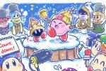 Kirby, uno splendido artwork per gli auguri di buon anno nuovo - Notizia