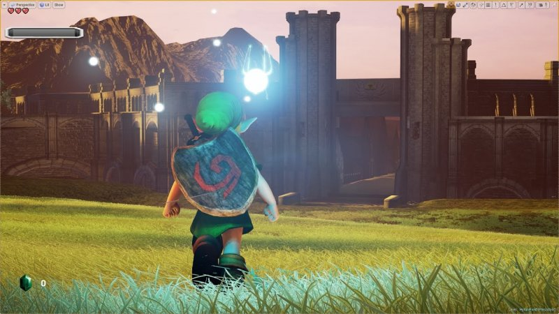 Zelda Ocarina Of Time Remake Unreal Engine 4