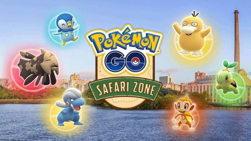Pokemon Go Safari Zone Brasile 2019 1