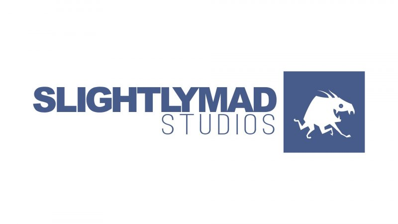 Slightly Mad Studios Logo White