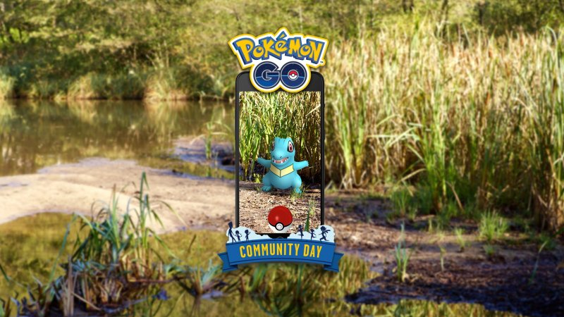 Pokemon Go Community Day Totodile Idrocannone 1
