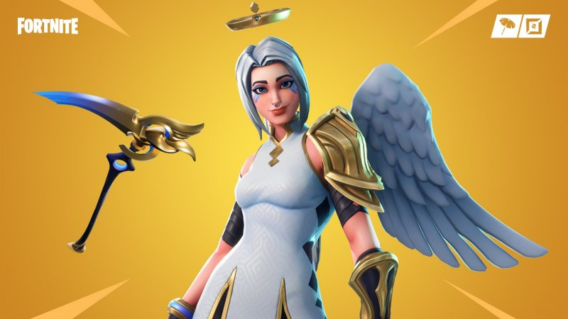 Fortnite Ark Nuova Skin Mercy Overwatch 1