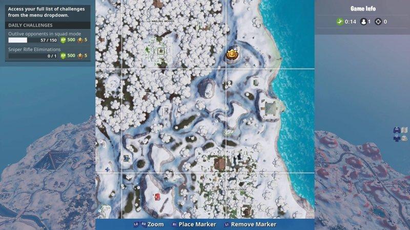 Fortnite Misterioso Portello Dama Roccia Settimana 8 Stagione 7 1
