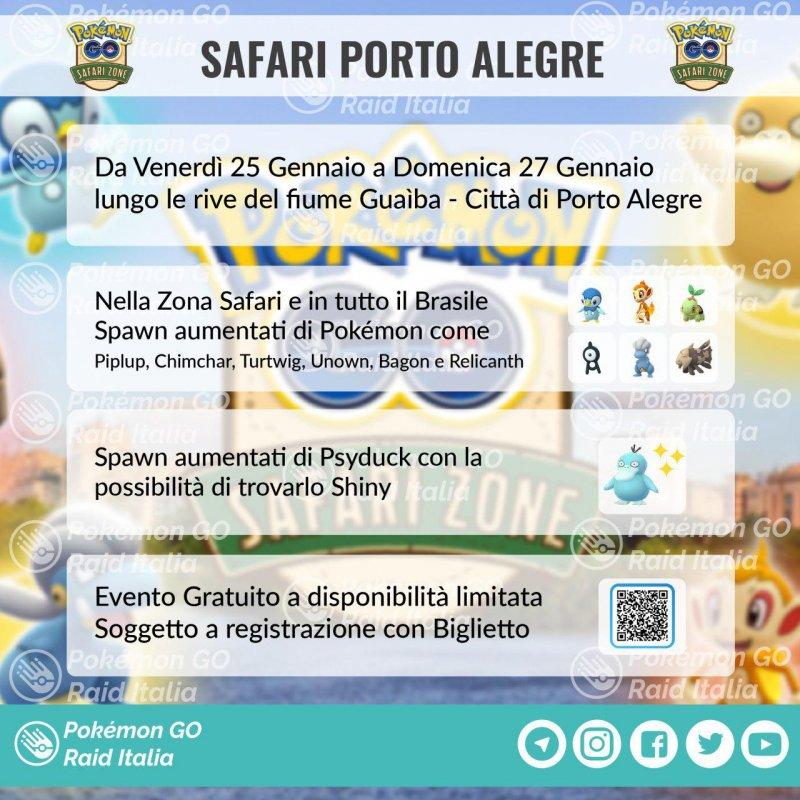 Pokemon Go Safari Zone Brasile 2019 2