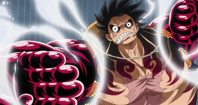 One Piece: Rufy Gear Fourth protagonista di una fantastica scultura in legno - Multiplayer.it
