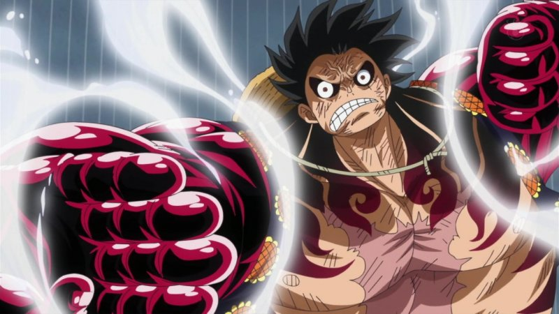 One Piece Rufy Gear Fourth Snake Man 1