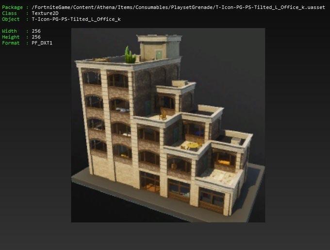 Fortnite Pinnacoli Pendenti Nuovo Edificio Uffici 1