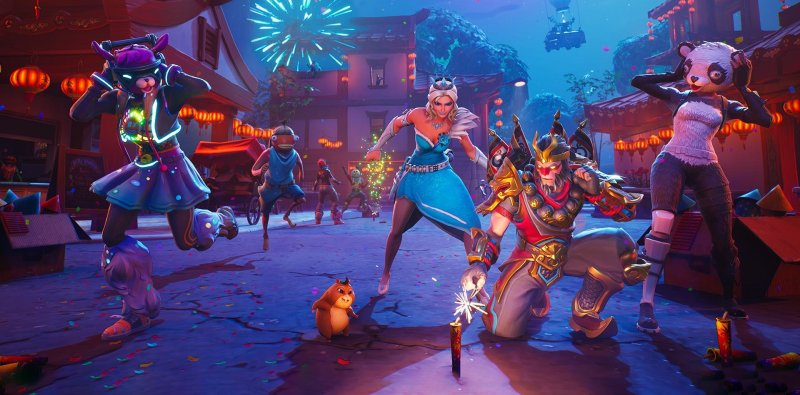 Fortnite Evento Capodanno Cinese 1