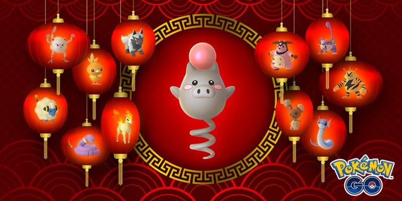Pokemon Go Spoink Evento Capodanno Cinese 2
