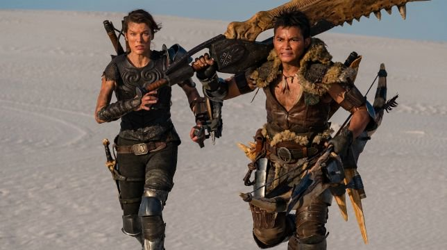 Monster Hunter Film Milla Jovovich