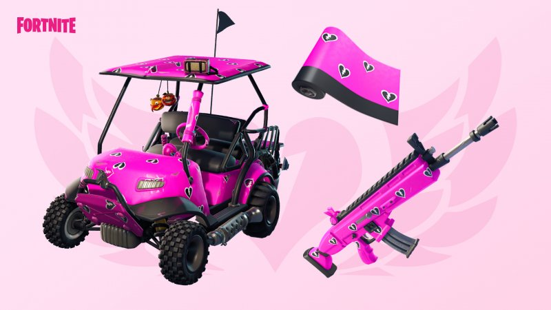 Fortnite Love For All Valentine & # 39; s Day 2019 1