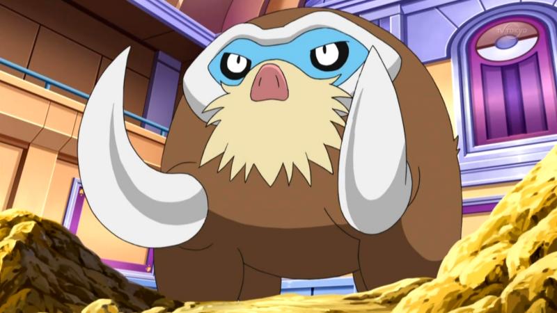 Pokemon Go Mamoswine Mossa Forzantica 1