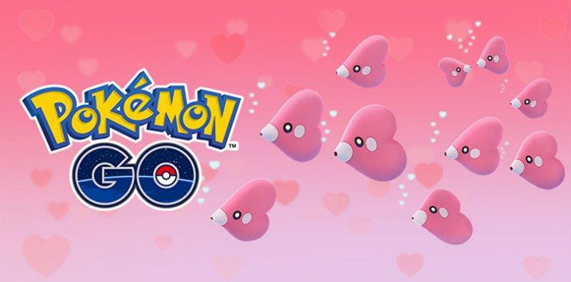 Pokemon Go San Valentino 2019 2