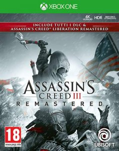 Assassin's Creed III Remastered per Xbox One