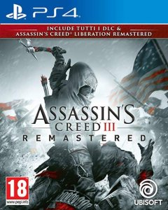 Assassin's Creed III Remastered per PlayStation 4