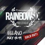 Rainbow Six Siege Pro League, tutto esaurito per la finale che si giocherà a Milano