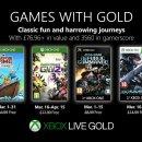 Games with Gold marzo 2019, ecco i giochi Xbox One gratis