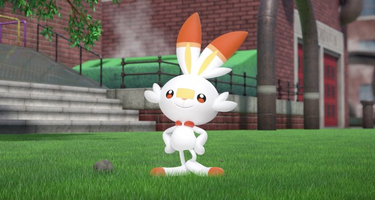 The Pokemon Sword And Shield The Starter Of The Galar Region Is