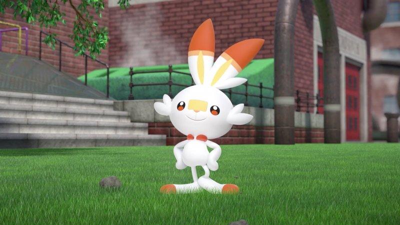 Pokemon Spada Scudo Starter Grookey Scorbunny Sobble Switch 2