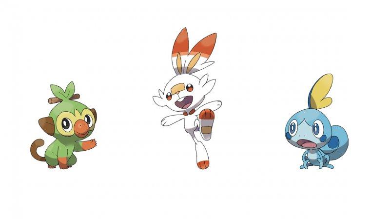 Starter Pokemon Spada
