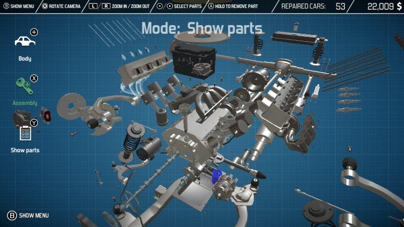 Car Mechanic Simulator Nintendo Switch 5