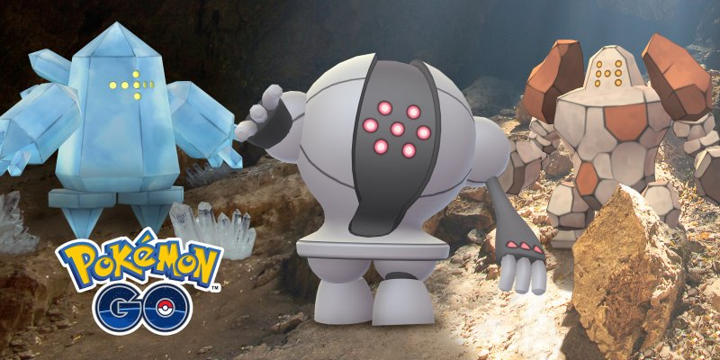Pokemon Regice Regirock Registeel 1