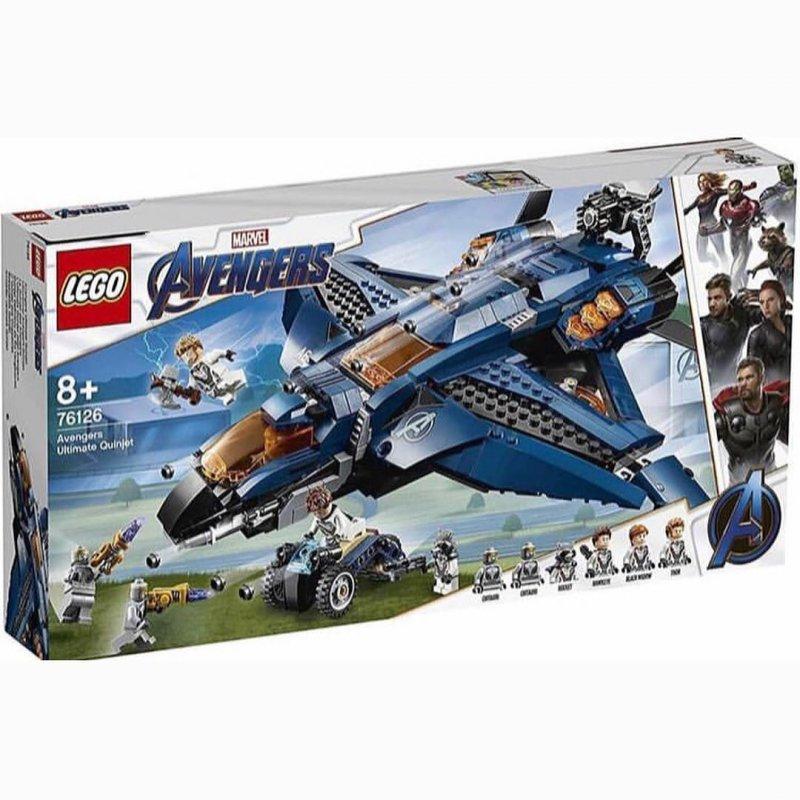 Avengers Endgame Scena Battaglia Finale Costruzioni Lego 1