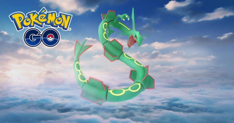 Pokemon Go Rayquaza 1
