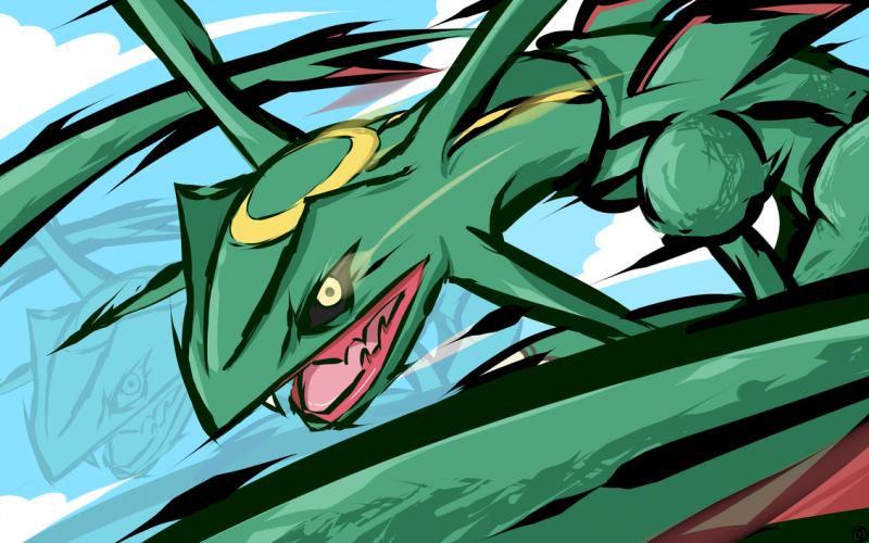Pokemon Go Rayquaza 2