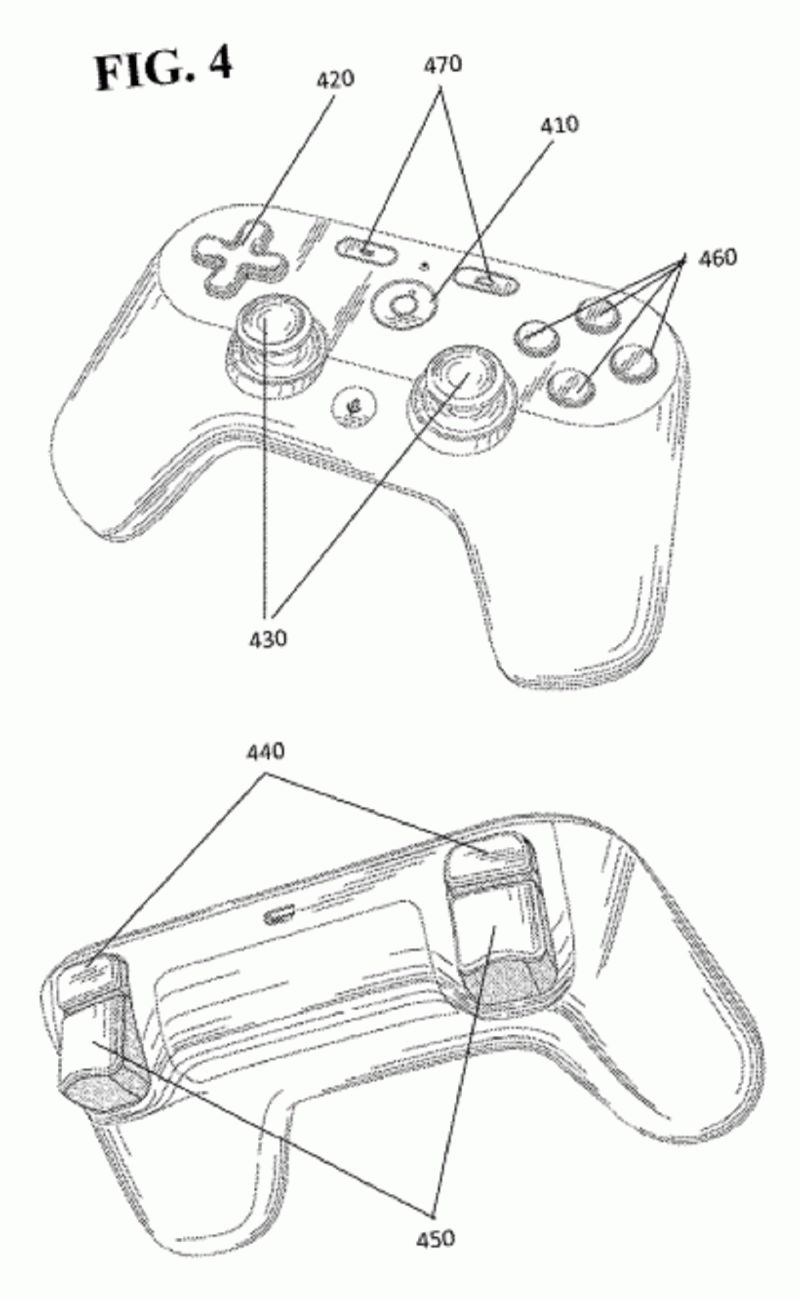 Google Gaming Console Controller 3