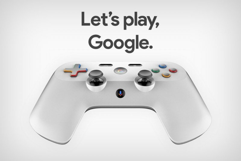 Google Gaming Console Controller