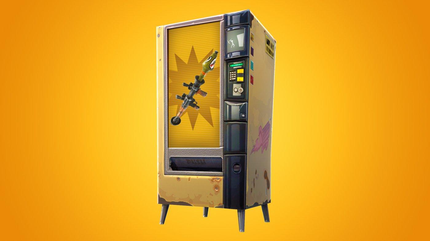 fortnite usa i distributori automatici in partite diverse multiplayer it - tutti i distributori automatici fortnite season 8
