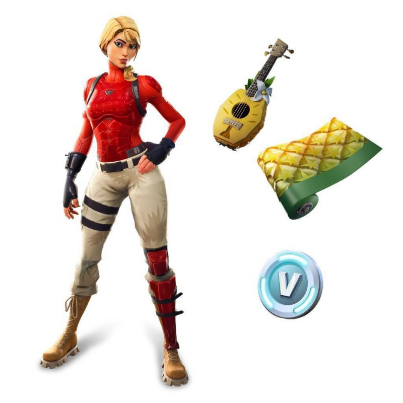 Fortnite Starter Pack Skin Laguna 1