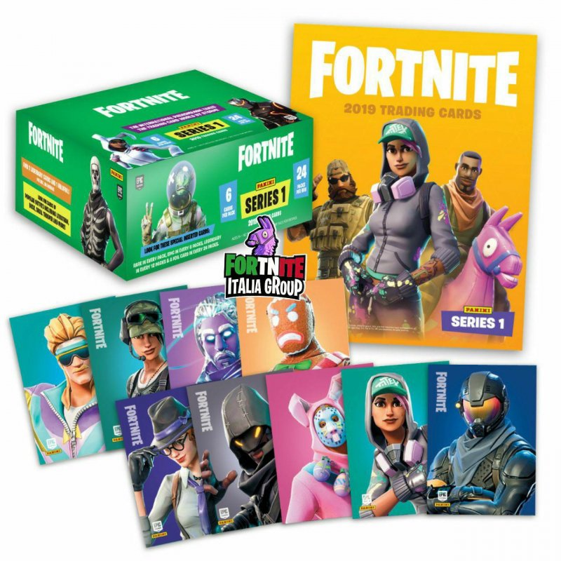 Fortnite Epic Games Panini Carte Collezionabili 1