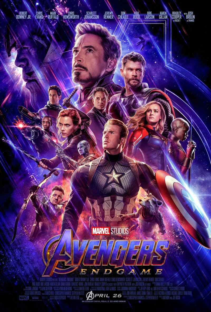 Avengers Endgame Poster Ufficiale Marvel Studios 1