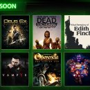 Xbox Game Pass, giochi di marzo 2019: Deus Ex, Vampyr, What Remains of Edith Finch e altri si aggiungono al catalogo