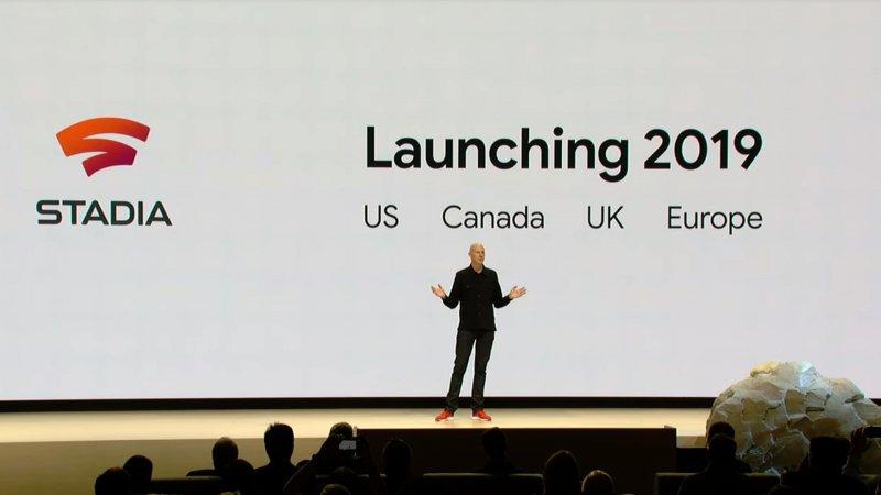 Launch Google Stadia