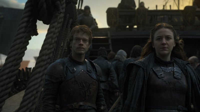 Yara And Theon Greyjoy In The Winds Of Winter Game Of Thrones