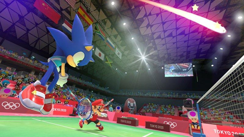 Mario Sonic Olimpiadi Tokyo 2020 2