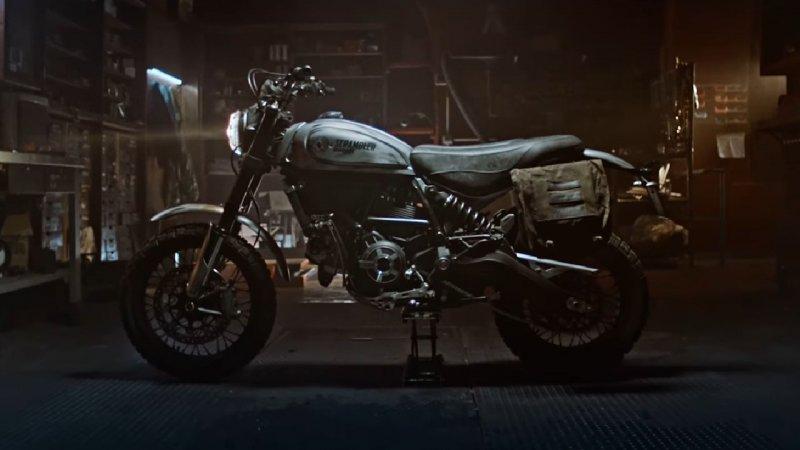 Days Gone Ducati Scrambler