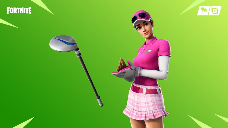 Fortnite Skin Golf Birdie 1